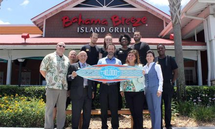 Give Kids the World Village Receives $10,000 Grant On Behalf of Bahama Breeze in Kissimmee