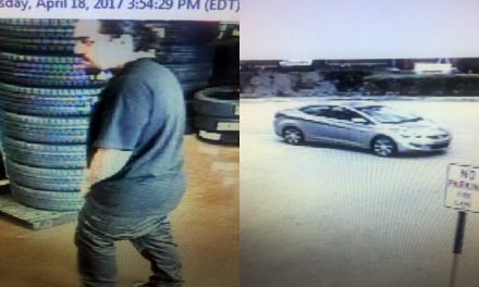 Car Stolen from Walmart Service Area While Customer Waited for Oil Change