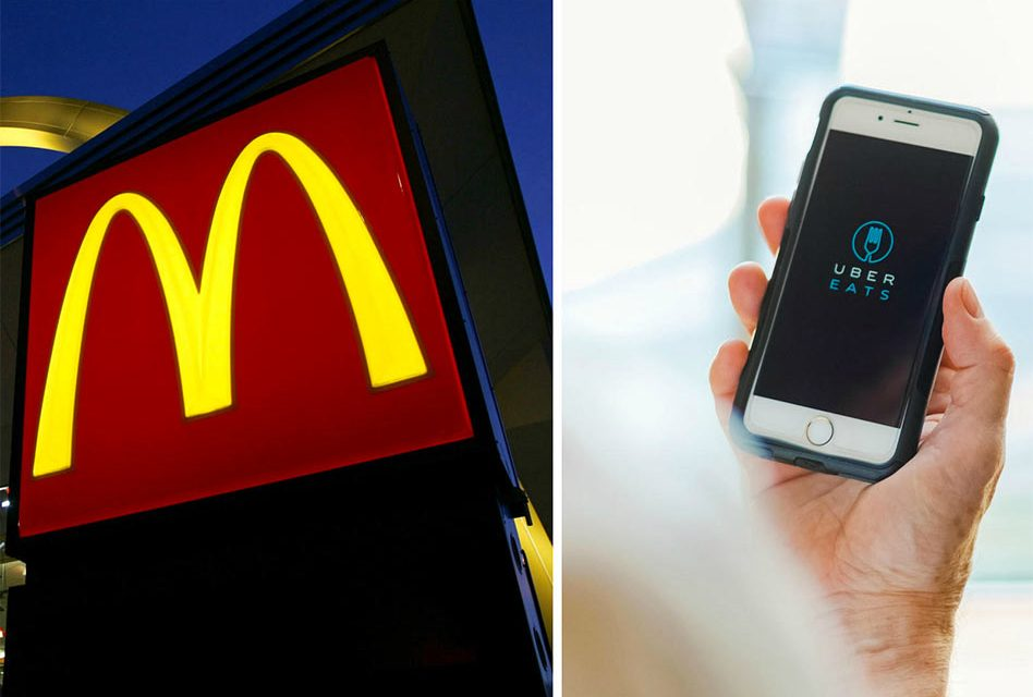 McDonald's and UberEATS Now Delivering to Some Areas of Osceola!