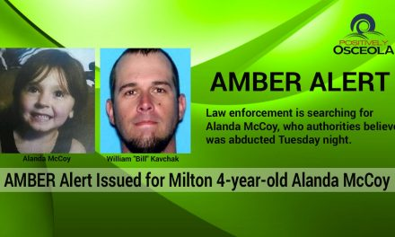 Amber Alert Canceled for Missing 4-year-old Florida Girl, Alanda McCoy