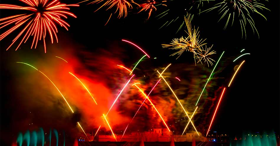 Seaworld Fireworks