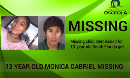 Missing Child Alert Issued for 13-year-old South Florida Girl