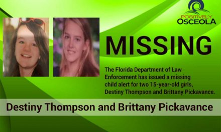 Florida Missing Child Alert Issued for 2 Teen Girls