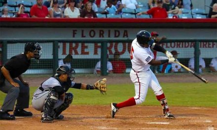 Lago Collects 3 Hits In Loss to Hammerheads Ending Playoff Quest