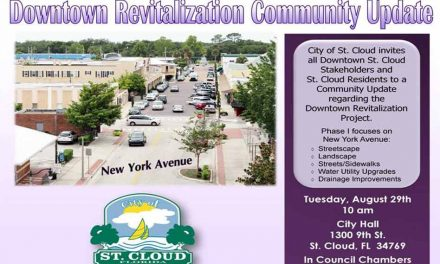 City of St. Cloud Invites Residents and Stakeholders to Downtown Revitalization Meeting