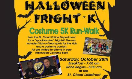 Halloween Fright-K Costume 5K Run-Walk Benefit Oct. 28