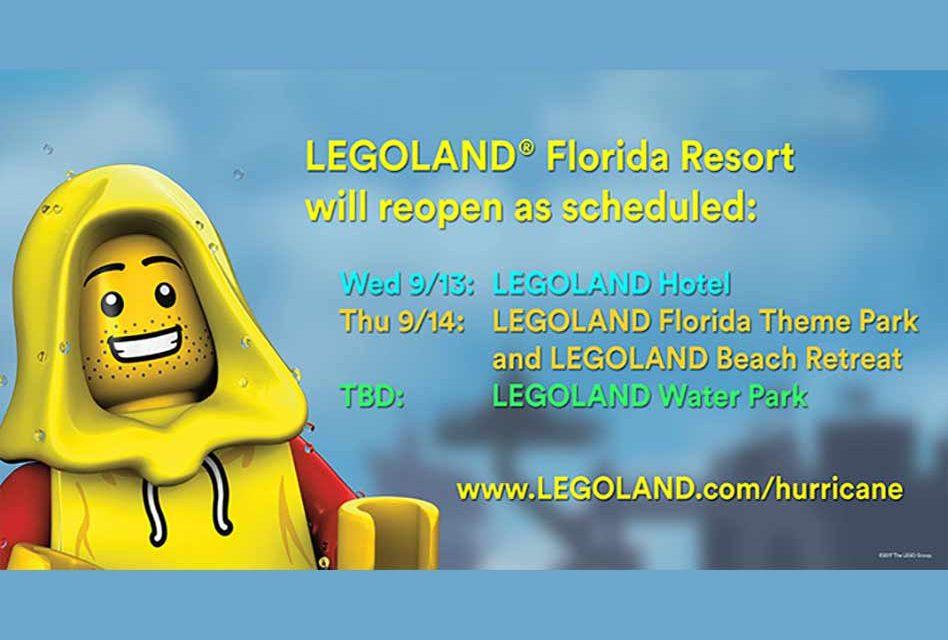 Legoland Florida Resort Reopens Today!