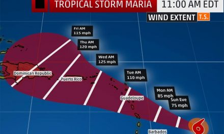 Tropical Storm Maria Expected to Strengthen into a Hurricane