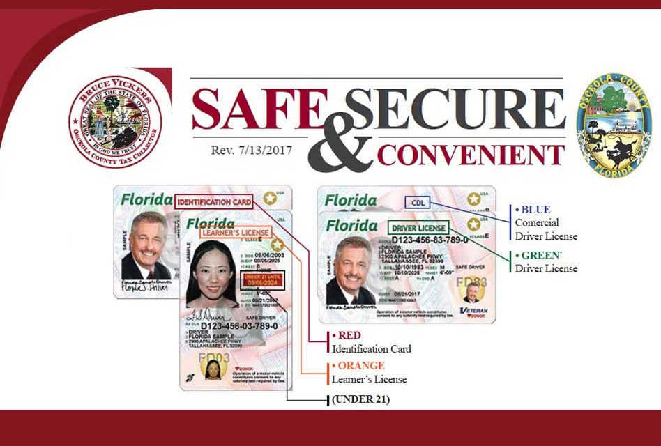 New More Secure Florida Drivers License And Id Card Now