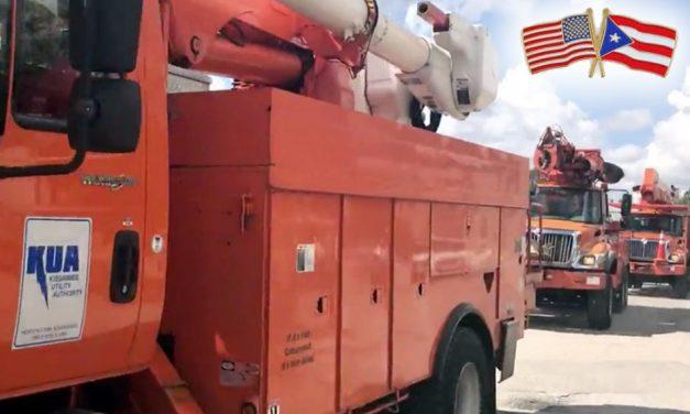 KUA Lineman Are Headed to Puerto Rico to Help Restore Power!