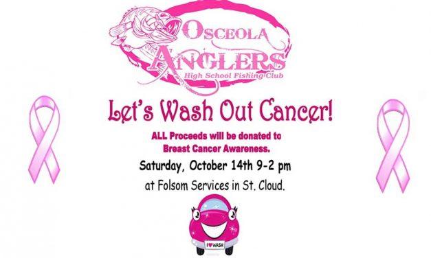 Osceola Anglers to Host Breast Cancer Awareness Car Wash Saturday Oct. 14