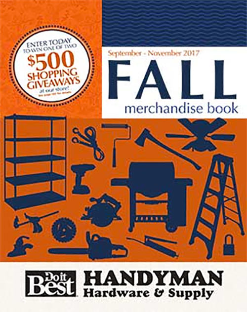 Handyman Hardware Fall Catalog