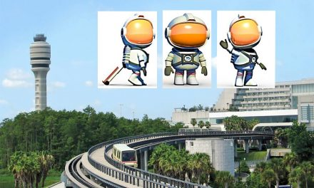 Annie the Astronaut Introduced as Orlando International Airport's Newest Ambassador