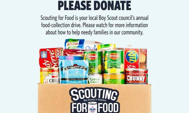 Central Florida Scouts are Coming to Collect Non-Perishable Foods Saturday Nov. 11