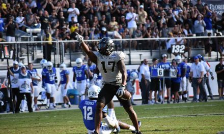 UCF Knights Accept Bid to Chick-Fil-A Peach Bowl  vs. Auburn Jan. 1
