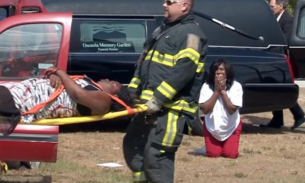 Prom Promise Mock Traffic Fatality Shocks Students at School for the Arts