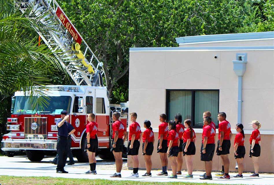 St. Cloud High School JROTC Cadets Complete St. Cloud Fire ...