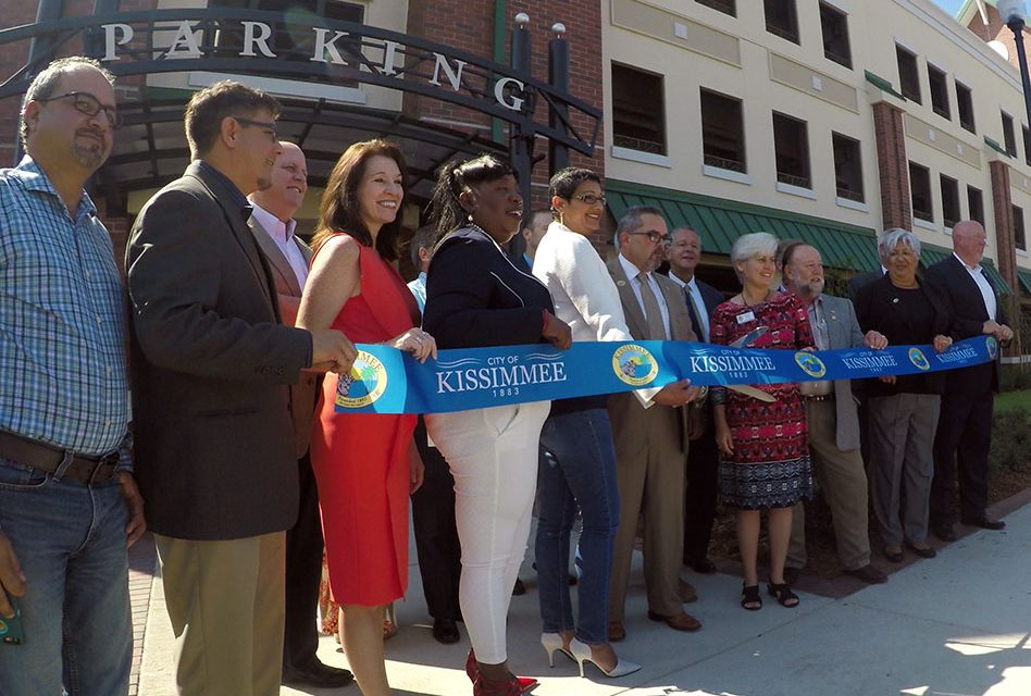 Kissimmee Celebrates Completion of a $9 Million, 398 Space Parking Garage