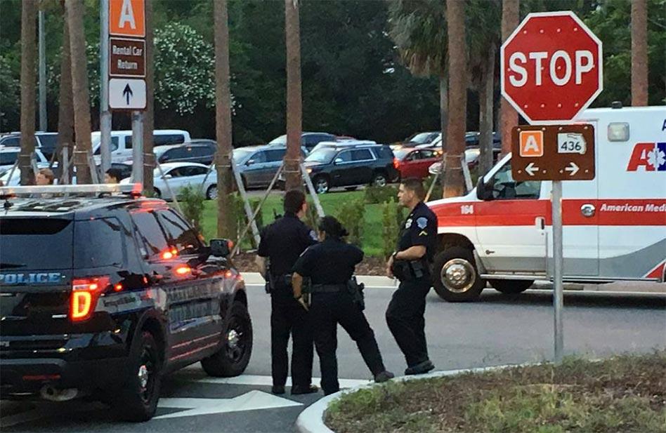 How the Orlando International Airport Gunman Standoff Unfolded