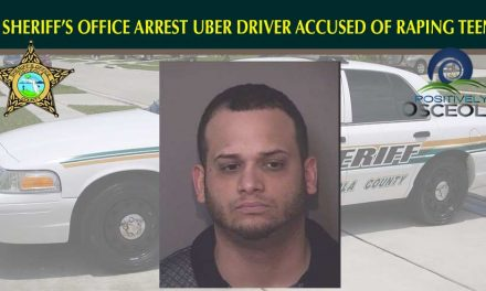 Osceola County Sheriff's Deputies Arrest Uber Driver Accused of Raping a 14 Year Old