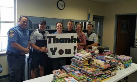 Kissimmee Police Kicks Off Their Summer Reading Program Books and Badges!