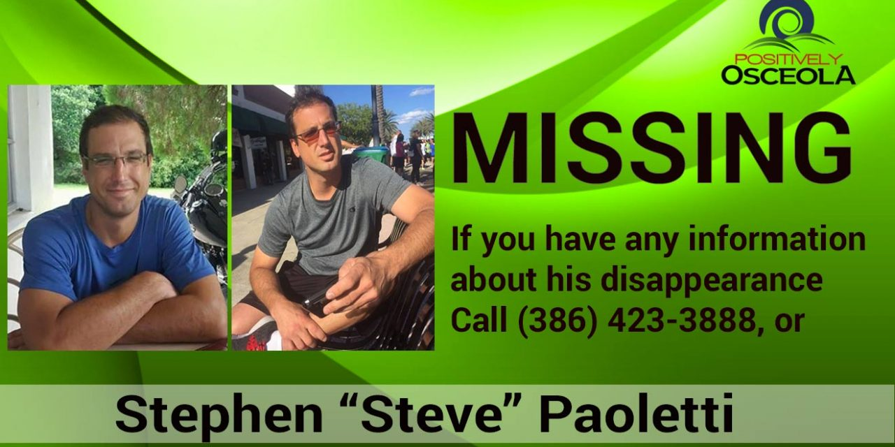 Authorities Looking for Man Missing from Edgewater Florida
