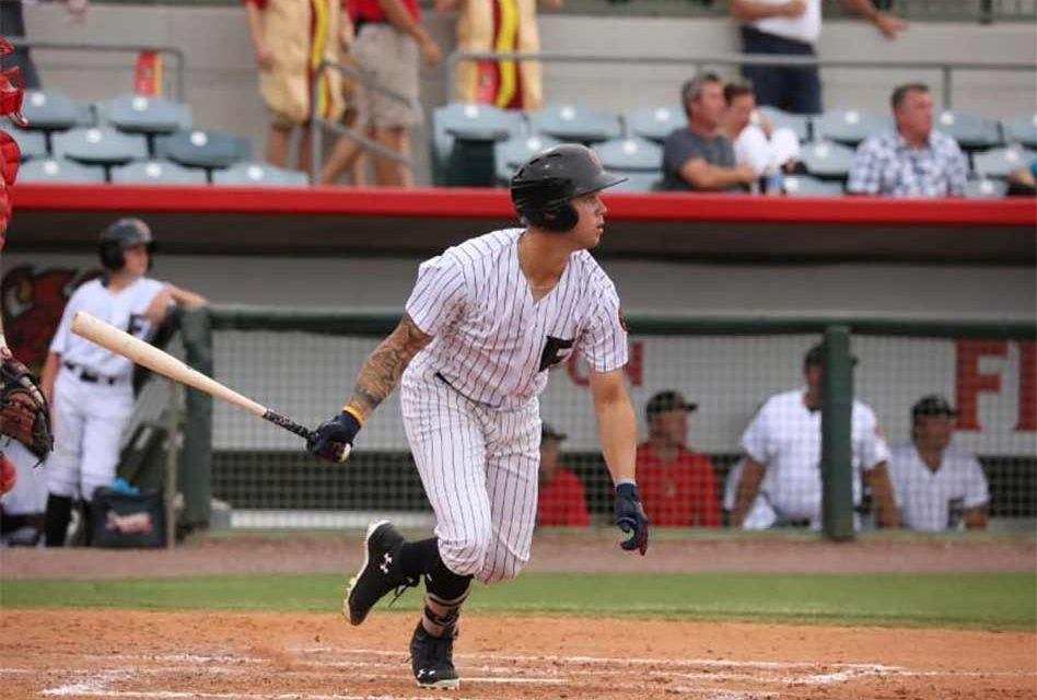 Florida Fire Frogs' Davidson Makes Big Plays to Seal Series Victory