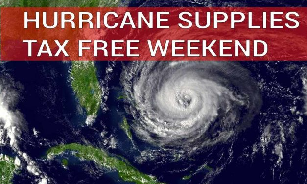 Formation of second named storm in May a reminder the hurricane supply sales tax holiday starts Friday
