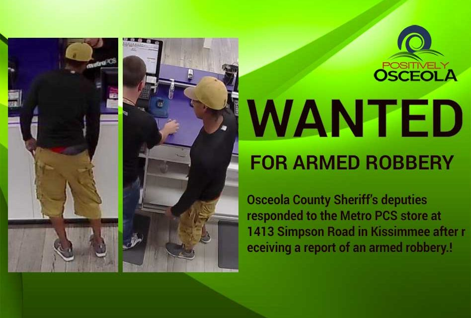 Osceola Sheriff's Office Searching for Kissimmee MetroPCS