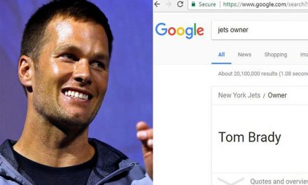Tom Brady Owns the NY Jets… Google It!