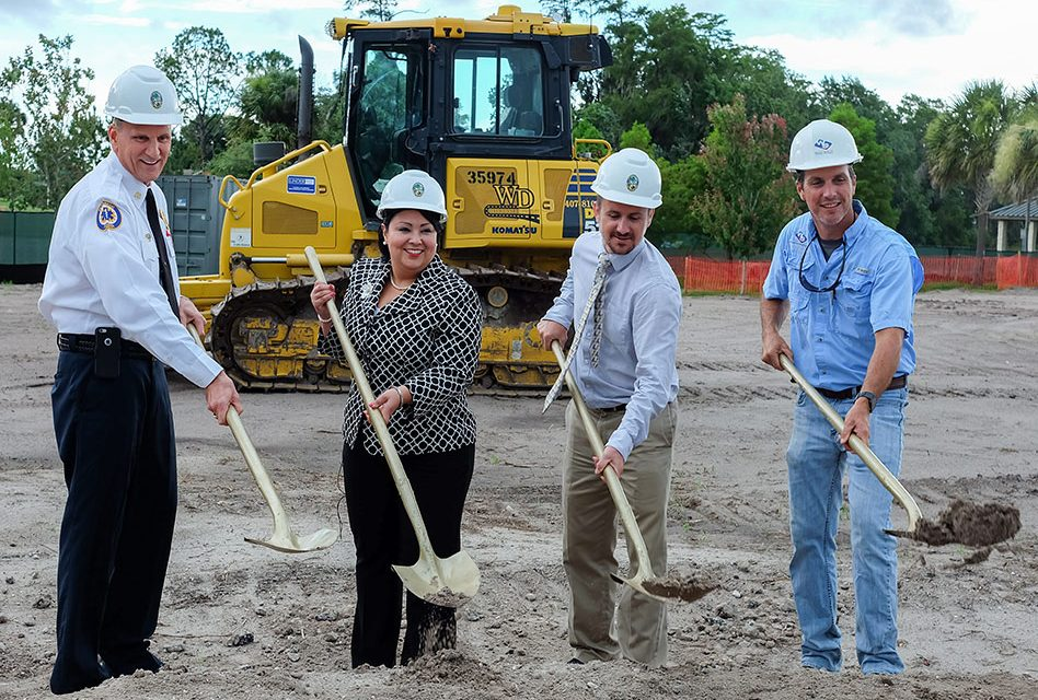 New Fire Station 62 Groundbreaking Takes Place IN BVL Commemorating the Borinqueneers