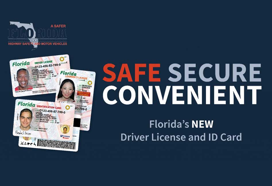Florida Drivers Handbook >> State of Florida's NEW Driver License and ID Card