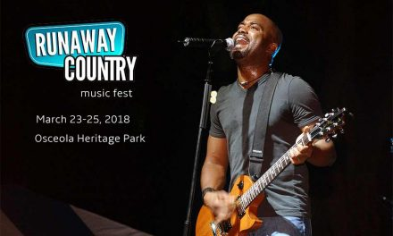 Runaway Country 2018 in Osceola County Will Feature Darius Rucker