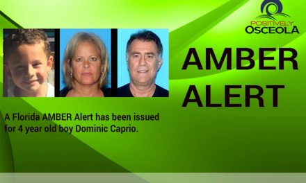 Amber Alert for Missing Four Year Old Dominic Caprio