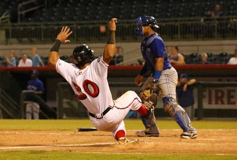Florida Fire Frogs Score Nine in the Eighth to Take Series over Blue Jays