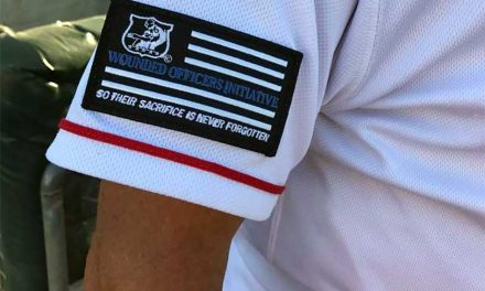 Fire Frogs Wear Their Heart On Their Sleeves in Honor of Slain Officers