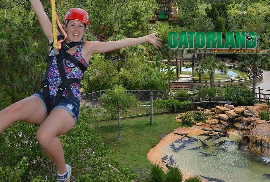 Gatorland Offers $20 Off Screamin' Gator Zip Line