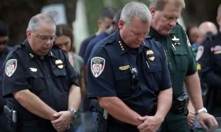 The Hope Mission Church Holds Prayer Vigil to Honor Fallen Kissimmee Police Officers