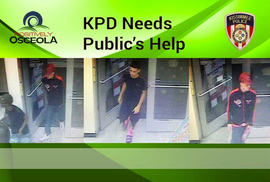 Kissimmee Police Need Public's Help Identifying 3 Men of Interest in Car Theft and Burglaries