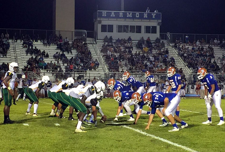 The Harmony Longhorns and Liberty Chargers Battled On Saturday Night After Hurricane Irma Delay!