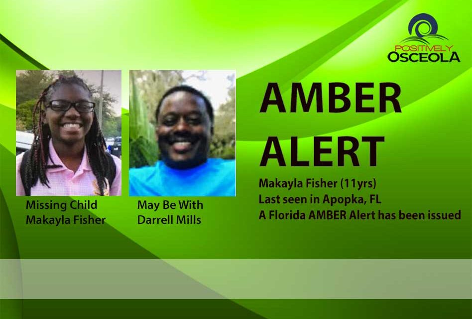 Amber Alert Issued for Missing 11-year-old girl Apopka Girl