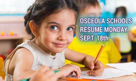 Osceola County Public Schools to Reopen Monday September 18