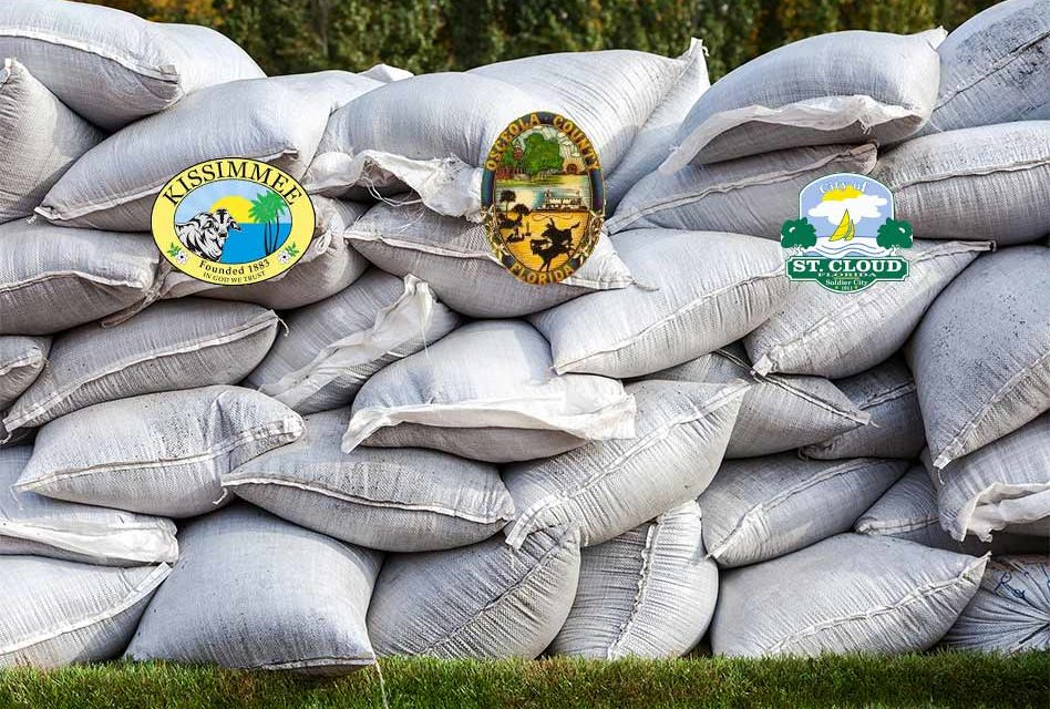 Sand Bag Distribution Throughout the County to be Extended Through Saturday