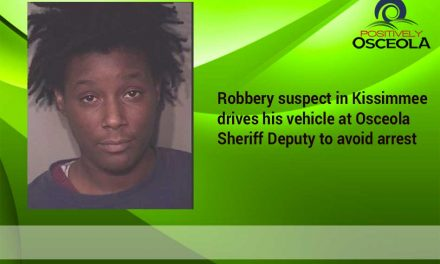 Osceola Sheriff's Arrest Kissimmee Robbery Suspects Who Drove Car at Deputy