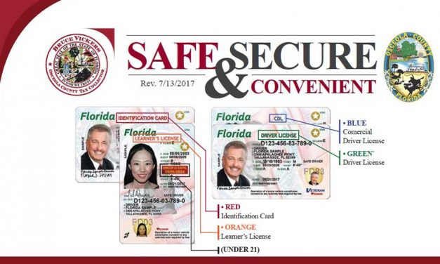 New More Secure Florida Drivers License and ID Card Now Available in Osceola County