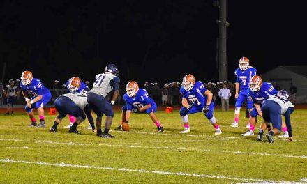 Harmony Longhorns Fall to Nona Lions in Thursday Night District Battle
