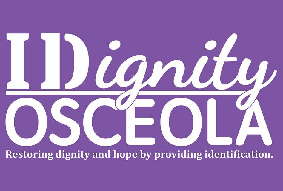 IDignity Osceola is Looking for Volunteers to Help With Their Next Event!