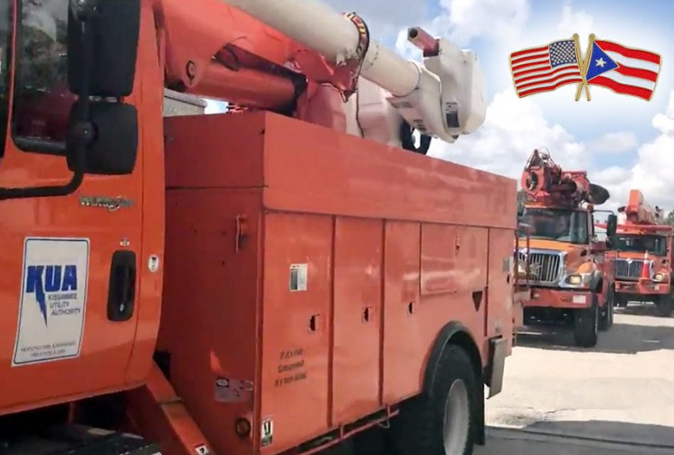 KUA Lineman Are Headed to Puerto Rico to Help Restore Power!