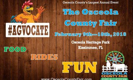 Osceola County Fair Returns February 9th-18th, 2018 at Osceola Heritage Park!