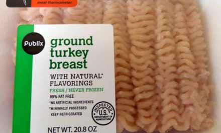 38,000 lbs. of Ground Turkey is Recalled Including Packages Sold at Publix
